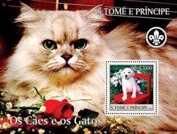 Sao Tome 2004 Fauna Dogs & Cats - Sao Tome And Principe