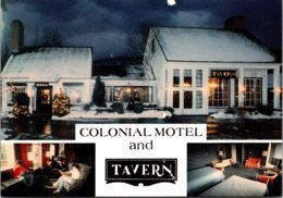 Vermont Brattleboro Colonial Motel & Tavern Putney Road - United States