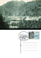 Spain 2019 - Cent. Tram Ferroviari Ripoll-Ribes De Freser. Ripoll Special Postmark Postcard - 1931-Hoy: 2ª República - ... Juan Carlos I