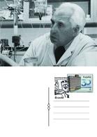 Spain 2019 -  Severo Ochoa 60 Aniv. Nobel Prize Special Postmark Postcard - 1931-Hoy: 2ª República - ... Juan Carlos I