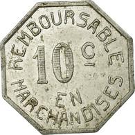 Monnaie, France, Coopérative Militaire, Pau, 10 Centimes, TTB, Aluminium - Monétaires / De Nécessité