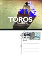Spain 2018 - Feria Taurina Palencia Special Postmark Postcard - 1931-Hoy: 2ª República - ... Juan Carlos I