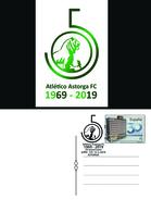 Spain 2018 - 50 Aniv. Atletico Astorga Special Postmark Postcard - 1931-Hoy: 2ª República - ... Juan Carlos I