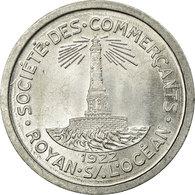 Monnaie, France, Société Des Commerçants, Royan, 10 Centimes, 1922, SPL+ - Monétaires / De Nécessité