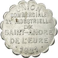 Monnaie, France, Union Commerciale Et Industrielle, Saint-André-de-l'Eure, 25 - Monétaires / De Nécessité