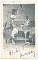 """CPA - (Egyte) - Café Arabe) - Cachet Faible """"Corr D'Armées Port-Saïd"""" 1920 - Port Said"""