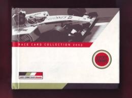 Race  Card Collection 2003, Auto F1 World Championship , Circuits' History, Winners, Photos, Maps English Language - Sport