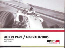 Albert Park Australia 2005, Auto F1 World Championship , Previous Race Results, Photos, English Language - Sport
