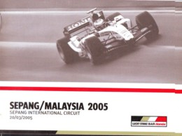 Sepang Malaysia 2005, Auto F1 World Championship , Previous Race Results, Photos, English Language - Sport