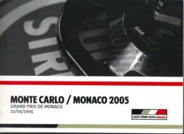 Montecarlo Monaco 2005, Auto F1 World Championship , Previous Race Results, Photos, English Language - Sport