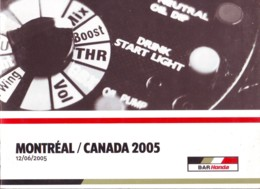Montreal Canada 2005, Auto F1 World Championship , Previous Race Results, Photos, English Language - Sport