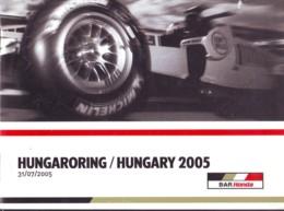 Hungaroring Hungary 2005, Auto F1 World Championship , Previous Race Results, Photos, English Language - Sport