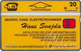 AUSTRIA Private: *Hans Svajda* - SAMPLE [ANK P226] - Austria