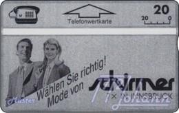 AUSTRIA Private: *Schirmer Moden* - SAMPLE [ANK P229] - Austria