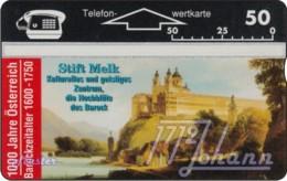 """TWK Österreich Privat: """"1000 J. Österreich - Stift Melk"""" Gebr. - Austria"""