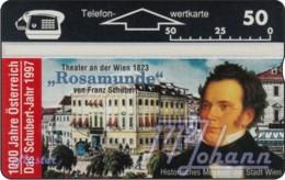 """TWK Österreich Privat: """"1000 J. Österreich - Schubert-Jahr"""" Gebr. - Austria"""