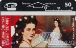 """TWK Österreich Privat: """"1000 J. Österreich - Elisabeth"""" Gebr. - Austria"""