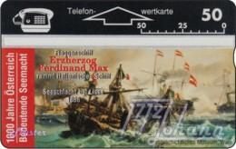 """TWK Österreich Privat: """"1000 J. Österreich - Seemacht"""" Gebr. - Austria"""