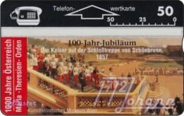 """TWK Österreich Privat: """"1000 J. Österreich - Maria-Theresien-Orden"""" Gebr. - Austria"""