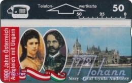 """TWK Österreich Privat: """"1000 J. Österreich - Graf Andrassy"""" Gebr. - Austria"""