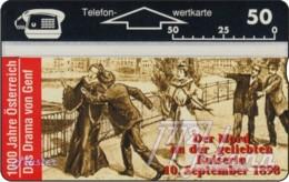 """TWK Österreich Privat: """"1000 J. Österreich - Drama Von Genf"""" Gebr. - Austria"""