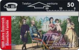 """TWK Österreich Privat: """"1000 J. Österreich - Kaiserfamilie"""" Gebr. - Austria"""