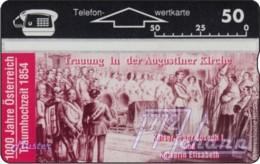 """TWK Österreich Privat: """"1000 J. Österreich - Traumhochzeit"""" Gebr. - Austria"""