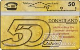 """TWK Österreich Privat: """"Donauland, 50 Jahre"""" (006L) Gebr. - Austria"""
