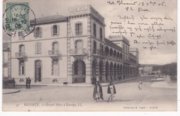 Tunisie - BIZERTE -  Grand Hôtel D'Europe - 1906 - Túnez