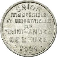 Monnaie, France, Union Commerciale Et Industrielle, Saint-André-de-l'Eure, 10 - Monétaires / De Nécessité