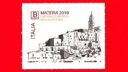 Nuovo - MNH - ITALIA - 2019 - Matera, Capitale Europea Della Cultura - Città Dei Sassi  - B Zona 1 - 6. 1946-.. Repubblica