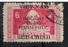 VIETNAM NORD       N°  YVERT     13  ( 2 )  OBLITERE       ( Ob  04/09 ) - Vietnam