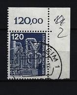 BUND Mi-Nr. 855 Eckrandstück Rechts Oben Industrie Und Technik Gestempelt - BRD