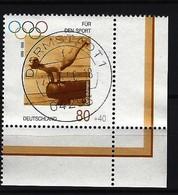 BUND Mi-Nr. 1861 Eckrandstück Rechts Unten Sporthilfe Gestempelt - Gebraucht