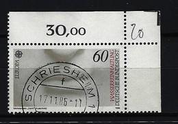 BUND Mi-Nr. 1278 Eckrandstück Rechts Oben Europa Gestempelt - Gebraucht