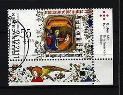BUND Mi-Nr. 2764 Rechtes, Unteres Eckandstück Weihnachten Gestempelt - BRD