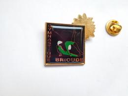 Superbe Pin's , Gymnastique De Brioude , Gym , Haute Loire - Gymnastiek