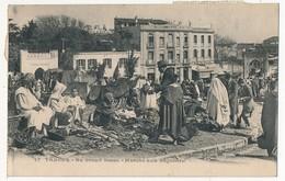 CPA - TANGER (Maroc) - Au Grand Socco, Marché Aux Légumes - Tanger