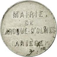 Monnaie, France, Mairie, Laroque D'Olmes, 5 Centimes, TTB, Aluminium, Elie:10.1 - Monétaires / De Nécessité