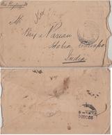 Trinidad & Tobago  1905  Port Of Spain  Stamps Removed  Cover To Cawnpore India  # 93047  Inde Indien - Trinidad & Tobago (...-1961)
