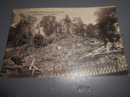 D.62 - Lestrem (pas De Calais) Après La Guerre Le Château - Autres Communes