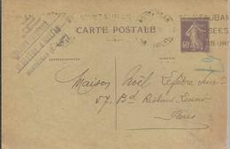 CARTE POSTALE MONTAUBAN 1931 - Enteros Postales