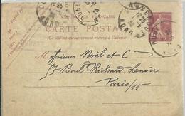 CARTE POSTALE  DUNKERODE 1923 - Enteros Postales