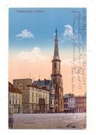 NIEDER-SCHLESIEN - FRANKENSTEIN - SLABKOVICE SLASKIE,Wein Grosshandlung Reinhold Aberl, Rathaus, Feldpost, 1919 - Schlesien