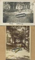 PUTTE  ( Kapellen )  :  2 Oude Foto's   (  9 X 6.5 Cm ) - Plaatsen