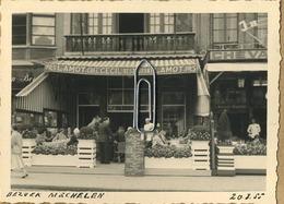 Mechelen :  Café CECIL  Restaurant (  Pils Lamot )   1955   (  10 X 7  Cm ) - Plaatsen