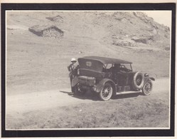ALGERIE  Automobile Voiture 1923 Photo Amateur Format Environ 7 X 5 Cm - Cars