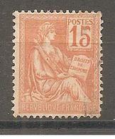 YT 117 TYPE II MOUCHON Oblitéré - 1900-02 Mouchon