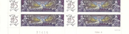 """2918 - CHAMPS ELYSEES - Bloc De 4 TP Neufs Avec Vignette """"Bonne Année 1995 """"- Bas De Feuille Sur TD6-3. TB - Frankreich"""