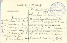 GUERRE 14-18 62e RÉGt T-l D'INFie -1er BATAILLON  Extrait Texte  Les Boches Nous Oublient Guère Soit Avec Leurs Marmites - Marcophilie (Lettres)